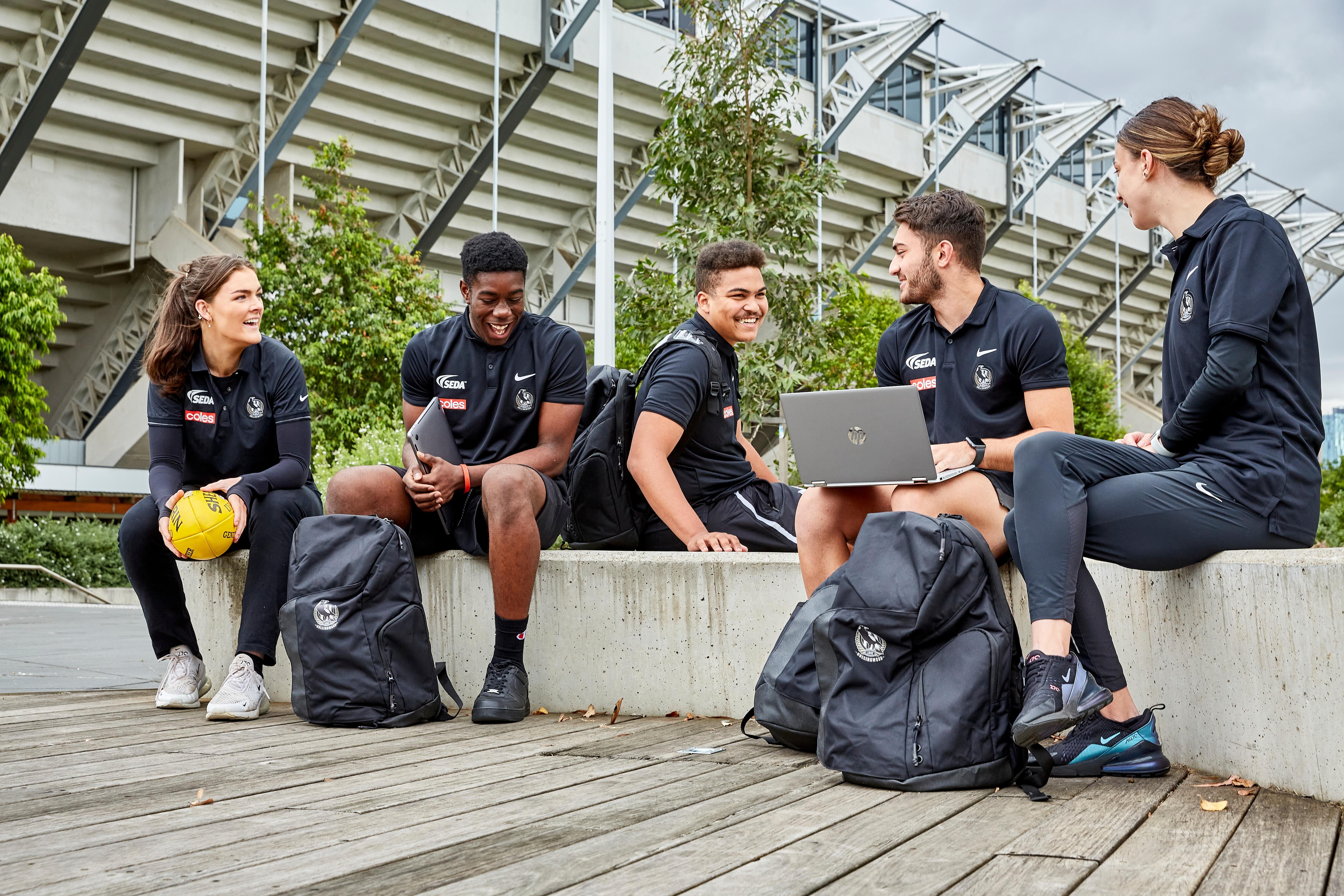 Students socialise